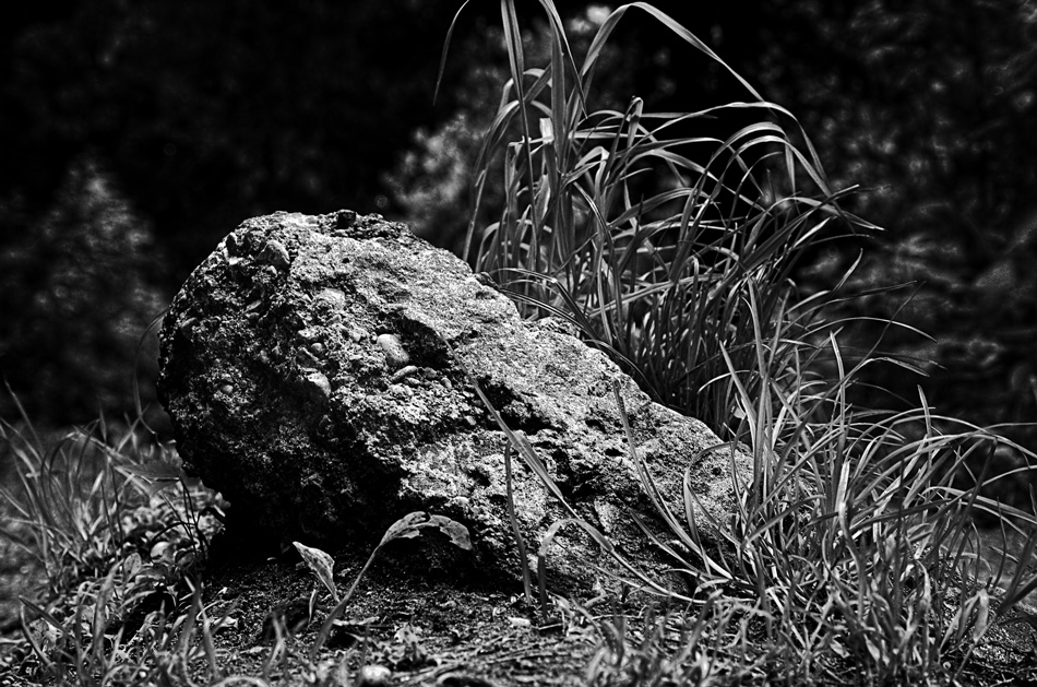 Steel of stone.